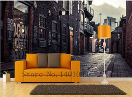 High quality Modern Luxury wallpaper 3D wall mural papel de parede photo wall paper Paris streets papeis de parede 3d