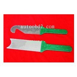 KLOM Power Quick Opener Set of 2 Pieces Magic lock pick tool,Super Door Slit Opener set,cross pick locksmith Tools