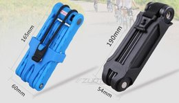 Wholesale Bike Lock Steel Coil chain Lock security bicycle lock for bicycle accessories colors