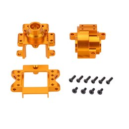 Wholesale Brand Upgrade Part Aluminium Alloy Gear Box for HSP Nitro Powered RC Off road Car order lt no track