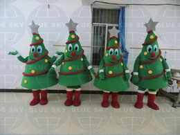 2015 NEW Adult christmas trees mascot costume christmas trees costume with free logo for sale