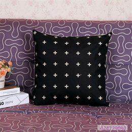 Wholesale-New Square Vintage Style Design Cotton Linen Throw Pillow Case Body Pillow Bed Home TextileYYA0110