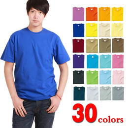 Wholesale assort color blank cotton t shirts custom logo label style assort size High quality cheap factory directly