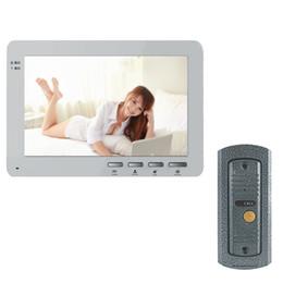 Wholesale YSECU quot TFT Doorbell Video Camera Door Phone Intercom System Entry Indoor Monitor and Doorbell Camera