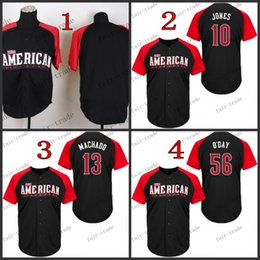 Wholesale 2015 all star american baltimore orioles jones Baseball Jersey Cheap Rugby Jerseys Authentic Stitched Size