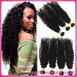 "Wholesale - 12""-28"" Virgin Peruvian Remy Hair Weave Unprocessed deep Wave Hair 100% Remy Human Hair Weft Natural Black 1B 3Pcs Lot dhl free"