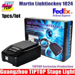 Wholesale One Piece USB Martin Lightjockey Led Stage Light Controller USB Martin light jockey USB Controller DMX512 Stage Light Controll