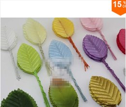 Free shipping New Arrived 200pcs  Artificial leaves flower leaves high simulation leaves nylon stocking flower party decoration