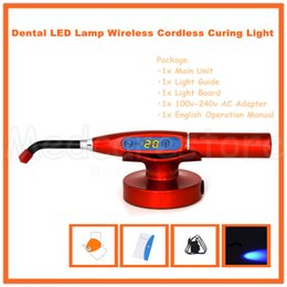 Wholesale Best Price Top Quality New Dental W Big Power LED Lamp Wireless Cordless mw Curing Light with Charging