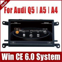 Wholesale Car Multimedia Car DVD Player for Audi Q5 A4 A5 with GPS Navigation Radio Bluetooth TV USB SD AUX Map Audio Video Stereo