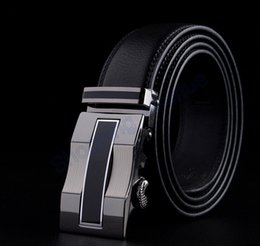 Wholesale New Arrival Auto Buckles Genuine Leather Men Belts Brand Luxury Automatic Leather Waistband shopping