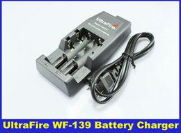 Wholesale UltraFire WF Rapid Charger for V Lithium Rechargeable Battery Batteries DHL Free Delivery