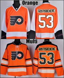 Wholesale shayne gostisbehere Jersey Philadelphia Flyers Home Orange Winter Classic Orange Authentic Stitched Hockey Jerseys