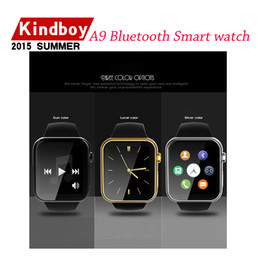 Wholesale High Quality smartwatch A9 Bluetooth Smart watch for Apple iPhone Samsung Android Phone from kindboy