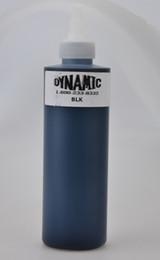 Wholesale 2 Bottles OZ DYNAMIC Black Tattoo Ink ml Pigment Top For Body Tattoo Art