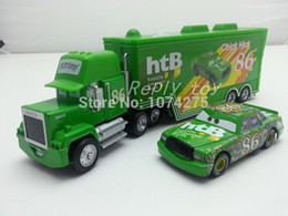 Wholesale Pixar Cars Mack Uncle No Chick Hicks Metal Diecast Toy Car Loose Brand New In Stock