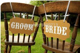 Wholesale-Free Shipping 1 Set BRIDE GROOM New Arrival Chic Wedding Photo Prop Sign Hanging Bunting Garlands