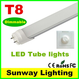 Dimmable LED T8 tube 2 3 4ft 18W 22W 1200mm Integrated tubes Lights G13 SMD 2835 LED lighting bulbs 110lm w 3years warranty