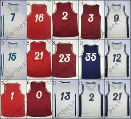 Wholesale 2015 Christmas Day Cheap Rev Basketball Jerseys Embroidery Sportswear Jersey S XL
