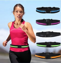 Wholesale Running Waist Bag for Men Women Sport Waist Packs Waterproof Mobile Phone Waist Bags Outdoor Bag Travel Pocket Purse