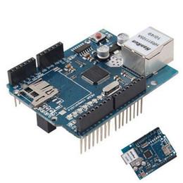 Wholesale New Ethernet Shield W5100 For Arduino Main Board UNO ATMega Mega1280 T1581 W0 SUP5