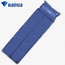 Wholesale Waterproof Automatic Inflatable Self Inflating Dampproof Sleeping Pad Tent Air Mat Mattress with Pillow for Outdoor Camping Y1465