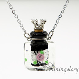 oblong aromatherapy inhaler aromatherapy diffuser necklaces aromatherapy pendants small glass vials necklaces small perfume bottles essentia