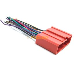 Wholesale Car Radio CD Player Wiring Harness Audio Stereo Wire Adapter for Mazda Install Aftermarket CD DVD Stereo