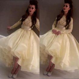 2015 Ball Gown Wedding Dresses Jewel Long Sleeve Lace Appliqued Fashion Reception Bridal Gowns 2015 Celebrity Dress Myriam FaresLight Dress