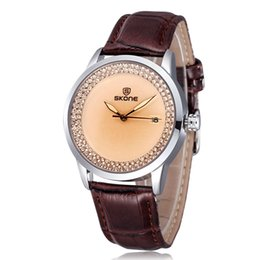 New Design Fashion Watch Quartz Leather Casual Wrist Watch For Women Free Shipping 5030