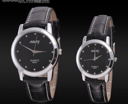 new lover's watch wristwatch pu leather band watch for man and woman style best price watch 6003pu