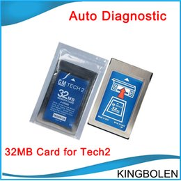 Wholesale 2015 New arrival GM Tech2 MB Pcmcia Memory Card with latest software for GM Holden ISUZU OPEL SAAB SUZUKI