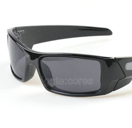 Wholesale Special Price men s gas can sunglasses black frame gray lens sport sunglass High Quality