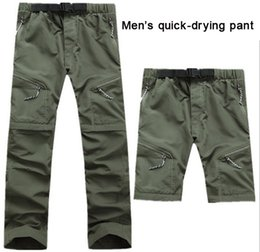 Wholesale Men quick drying pant Waterproof breathable perspiration quick drying UV trousers cycling outdoor Camping Hiking pants clothing trouse