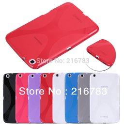 Galaxy tab caja estanca en venta-Al por mayor-2015 nuevo Arrvial! Funda impermeable de alta calidad TPU de protección para el Samsung Galaxy Tab 3 8.0 T310 T311 Envío Gratis