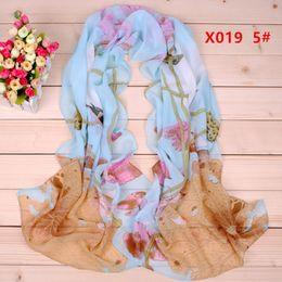 Wholesale New Zebra pattern chiffon long silk scarves cm DHL X019c Sales Paisley scarf Fashion design