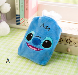 Water-filling Hot-water Bag Cartoon Mini Injection Filled Water Plush Warm Portable Hand Warmer A058