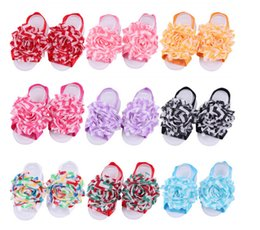 European and American models new baby foot flower foot waves with 13 models of child-color options 10pair