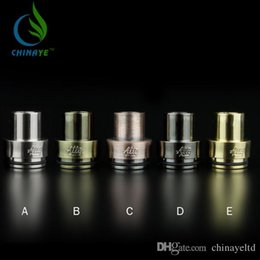 Cheap Tobh Atty Drip Tips Plastic chuff top cap fit for 22mm Diameter Tobh RDA Stillare RDA Vulcan RDA Cap TOBH ATTY . ATTY V2.5