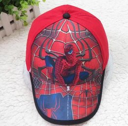 Wholesale Childrens baseball hats GORGE PIG My little pony elsa spiderman hats For years cotton caps baby peaked cap adjustable hats