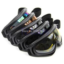 Venta caliente de la motocicleta en Línea-A25 los vidrios a prueba de polvo del ojo del capítulo de la lente de los anteojos del Snowboard del esquí de las gafas de sol de la motocicleta CALIENTE caliente-