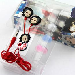 Wholesale-Anime Tokyo Ghoul Cosplay Earphone Ken Kaneki Earphone With 3 Earbuds Hot Sale H2426