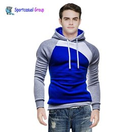 Canada Nouvelle conception Causal Hommes Hoodies, Mâle Mode Sportswear Outerwear Sweatshirt Adhésifs pour hommes Costumes de sport pour hommes Vêtements Offre