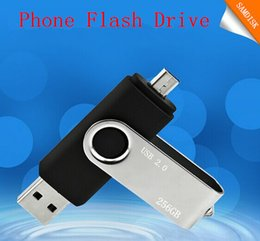 Wholesale 256GB GB GB Smart Phone USB Flash Drive OTG Pen For Smart Phones tablet computer random colour external storage micro usb memory stick