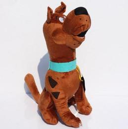 Свободный материал собаки для продажи-горячей продажи Scooby Doo собаки куклы 13inch мягкий плюш мягкая игрушка новая детская Подарок бесплатная доставка