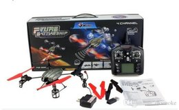 original box ! WL V959 with Camera Cam 2.4G 4CH RC Quadricopter 4-Axis GYRO Remote Control Helicopter Quad Copter UFO Ar.Drone
