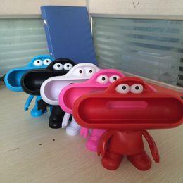 Wholesale 2016 Brand Frog Dude Bluetooth Speaker Best Pills Players Stand Holder Case For Portable Speaker Pill Lovely Dude Doll