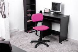 Wholesale US stock Ergonomically Office Task Computer Chair with Fabric Pads mmnylon base PA castors gas lift regular fabric with foam seat