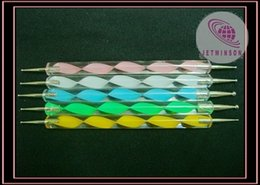 Wholesale Nail Art Dotting Tool Ball Marble Pen Way Heads inches