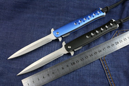 New arrival Small sword fish pocket folding knife with nylon sheath new in retail box packing